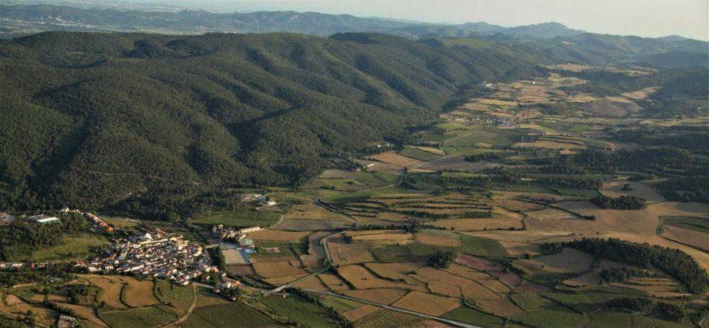 Vista Aeria Sant Joan De Mediona